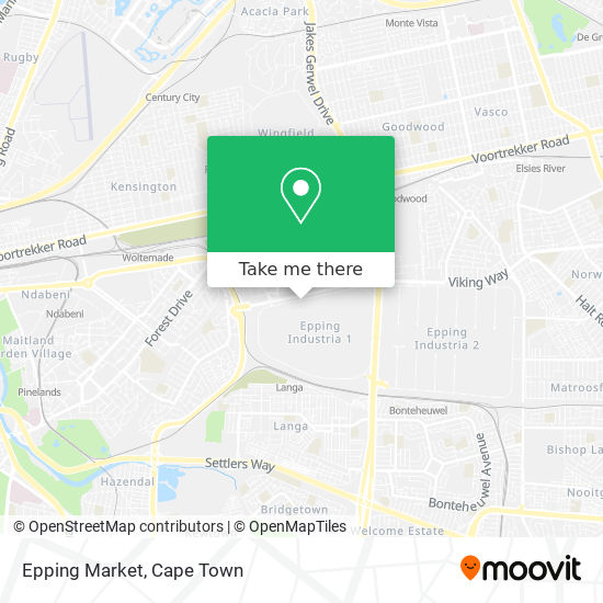 Epping Market map