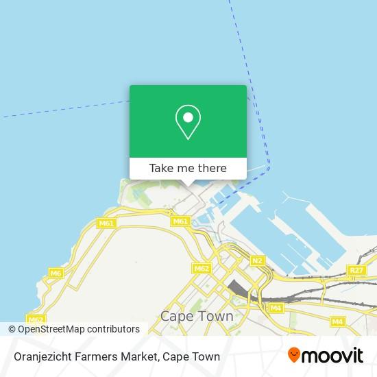 Oranjezicht Farmers Market map