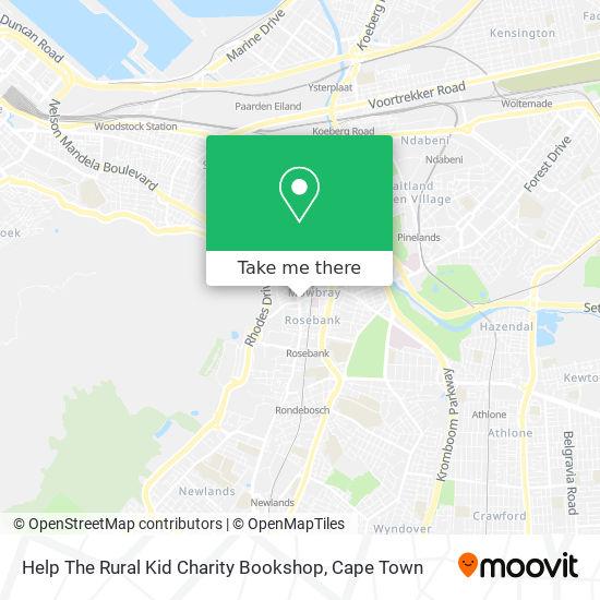 Help The Rural Kid Charity Bookshop map