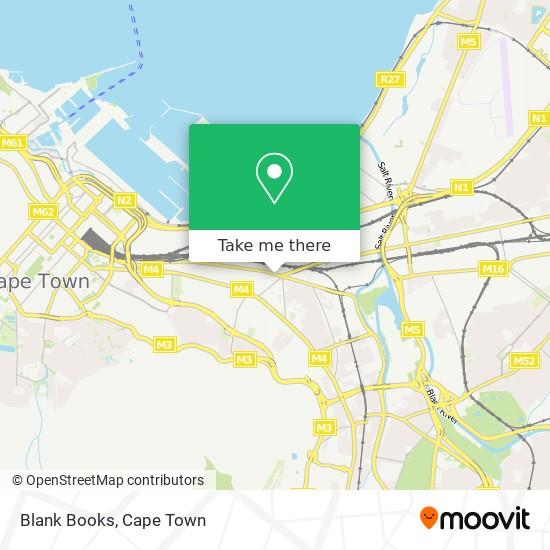 Blank Books map
