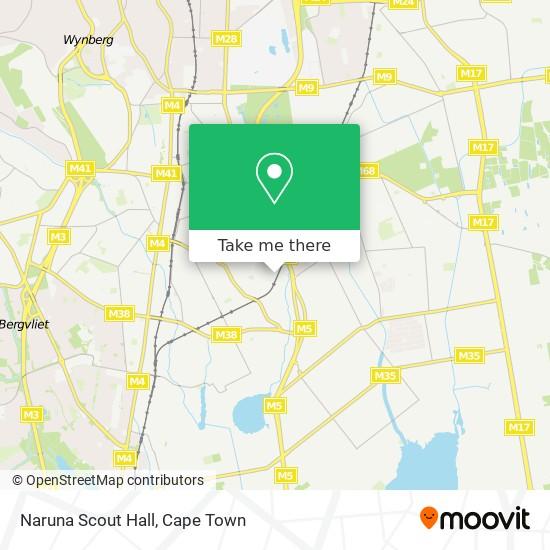 Naruna Scout Hall map
