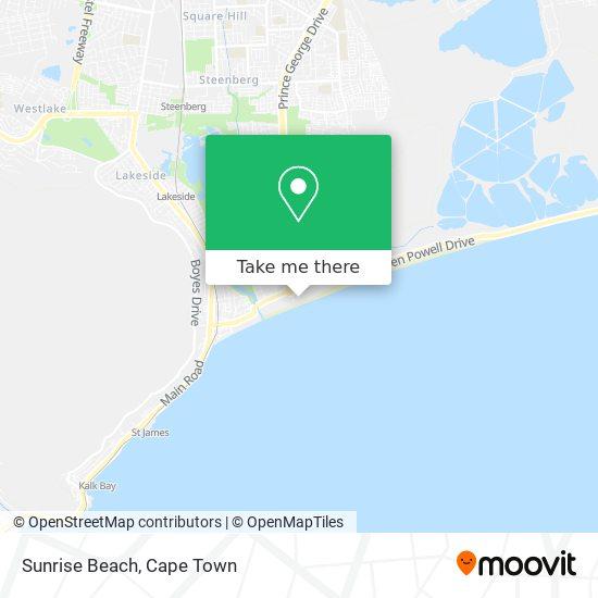 Sunrise Beach map