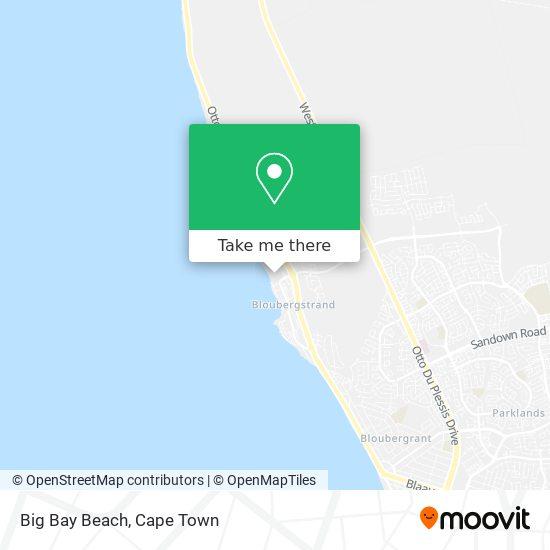 Big Bay Beach map
