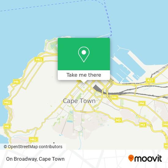 On Broadway map
