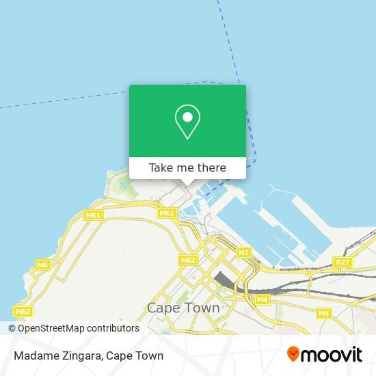 Madame Zingara map