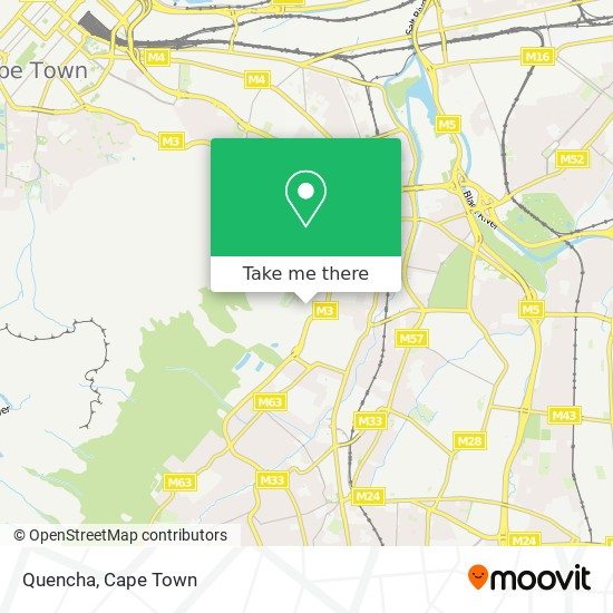 Quencha map