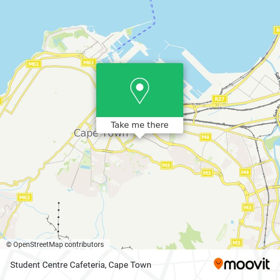 Student Centre Cafeteria map