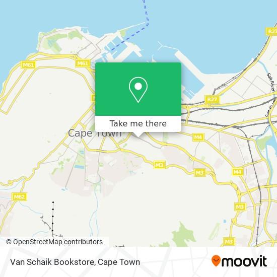 Van Schaik Bookstore map