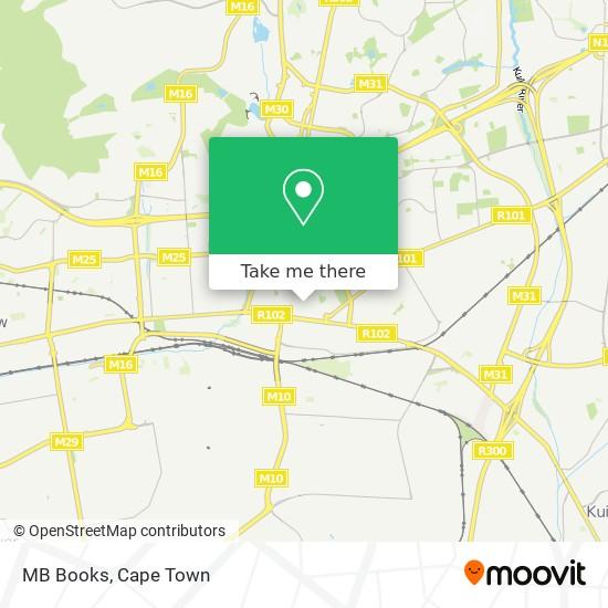 MB Books map