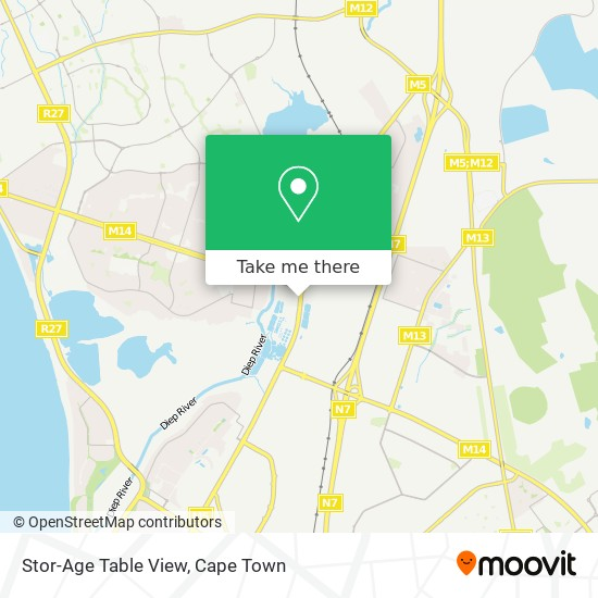 Stor-Age Table View map