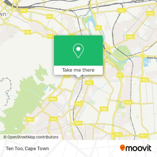 Ten Too map