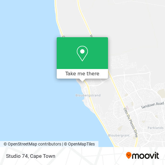 Studio 74 map