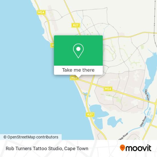 Rob Turners Tattoo Studio map