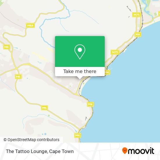 The Tattoo Lounge map