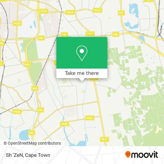 Sh 'ZeN map