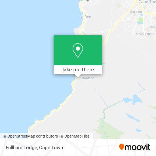 Fullham Lodge map
