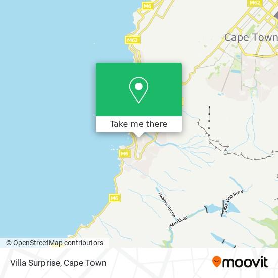 Villa Surprise map