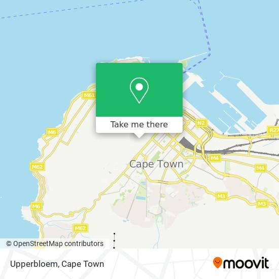 Upperbloem map