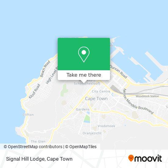 Signal Hill Lodge map