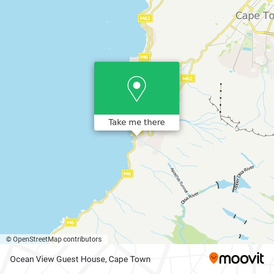 Ocean View Guest House map