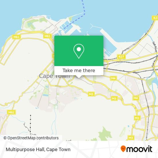 Multipurpose Hall map