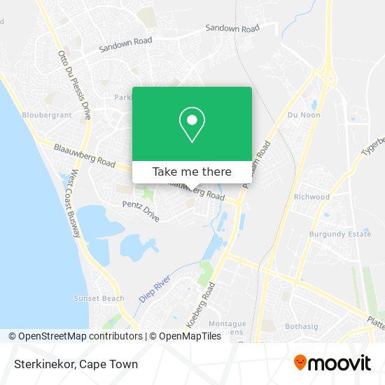 Sterkinekor map
