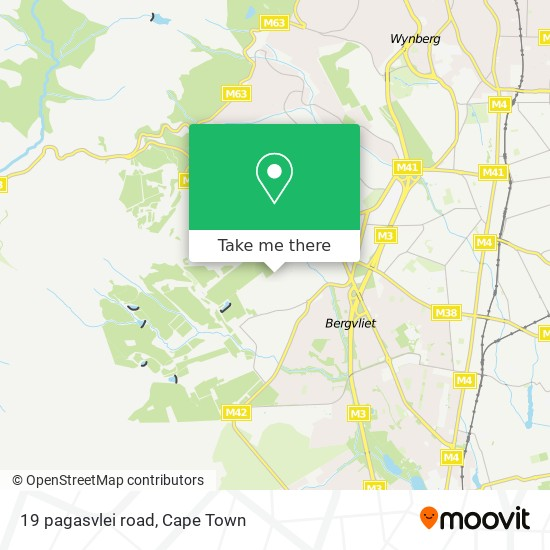 19 pagasvlei road map