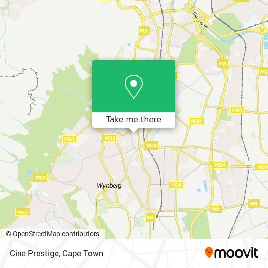 Cine Prestige map