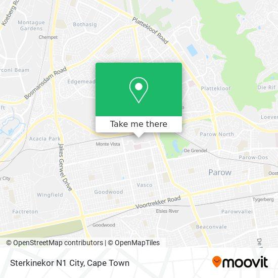 Sterkinekor N1 City map