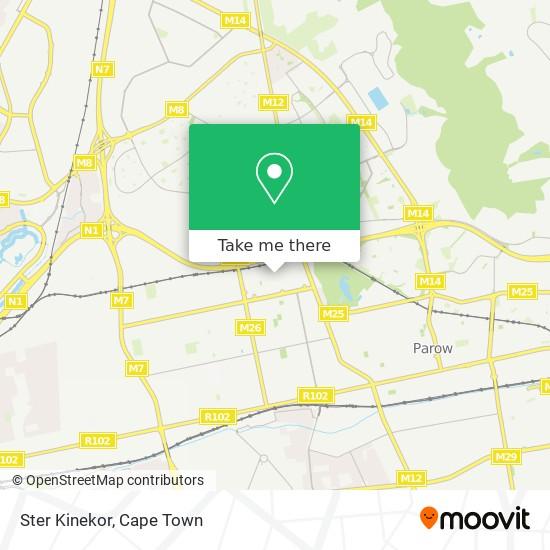 Ster Kinekor map