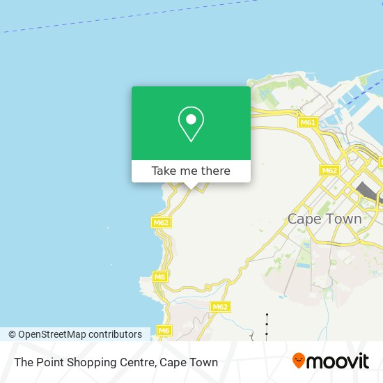 The Point Shopping Centre map
