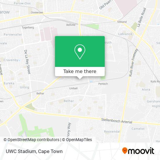 UWC Stadium map