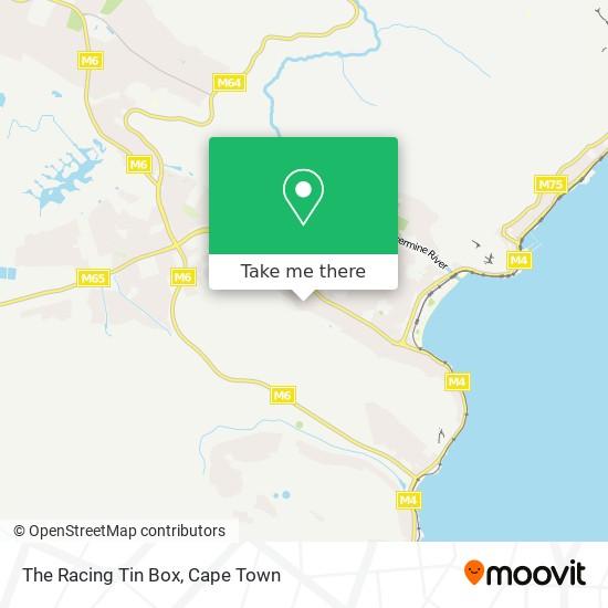 The Racing Tin Box map