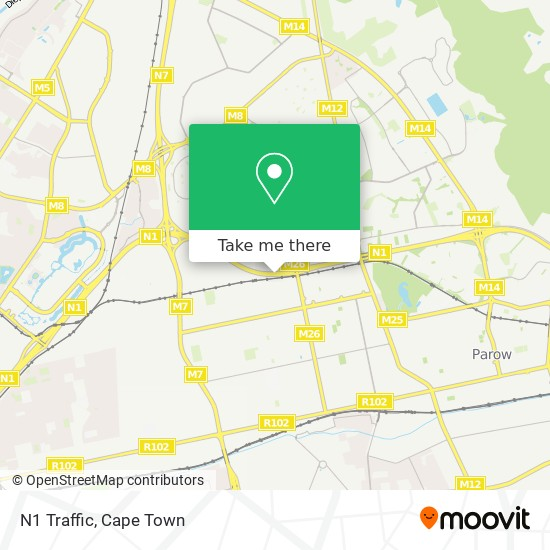 N1 Traffic map