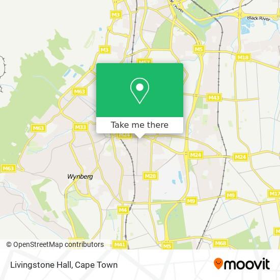 Livingstone Hall map