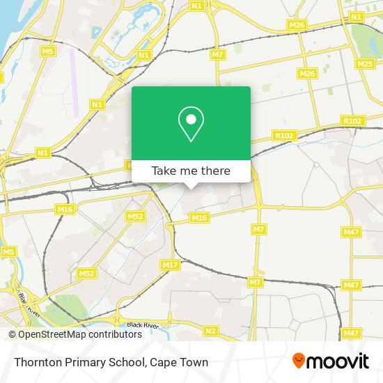 Thornton Primary School map