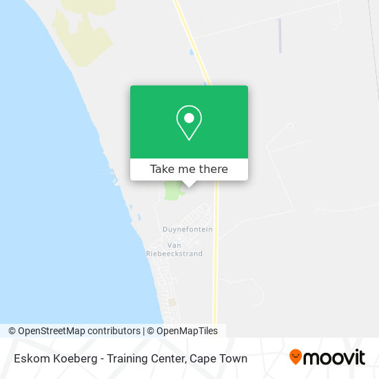 Eskom Koeberg - Training Center map