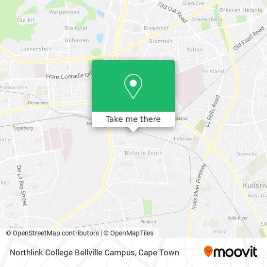 Northlink College Bellville Campus map