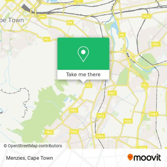 Menzies map