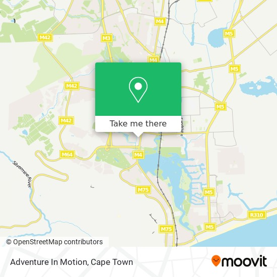 Adventure In Motion map
