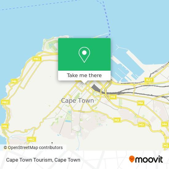 Cape Town Tourism map