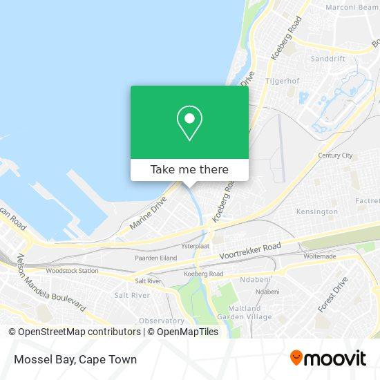 Mossel Bay map