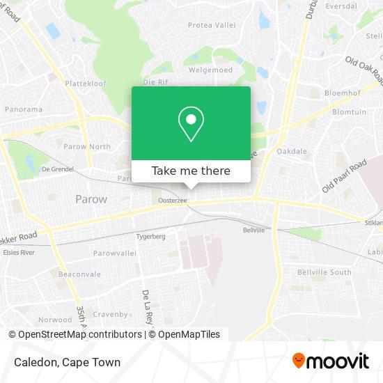Caledon map