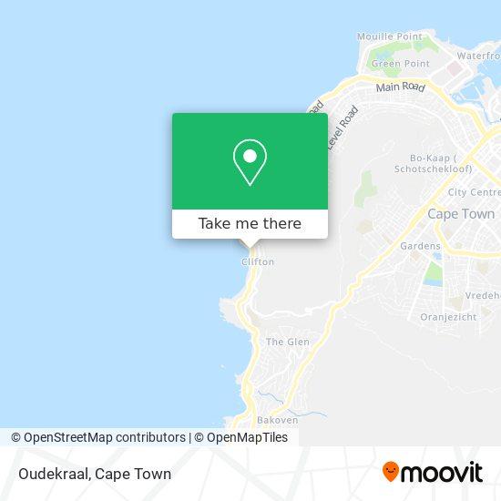 Oudekraal map