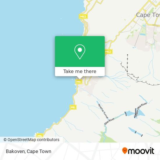 Bakoven map