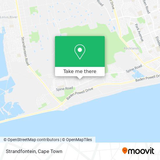Strandfontein map