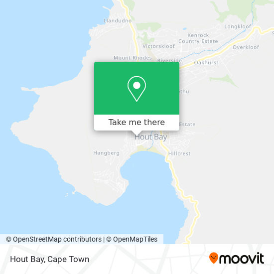 Hout Bay map