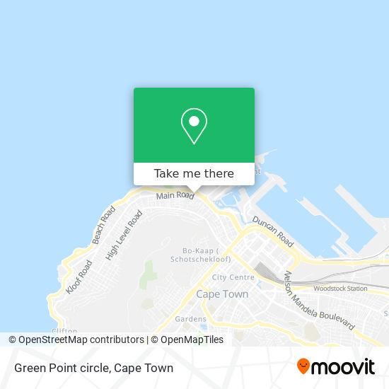 Green Point circle map