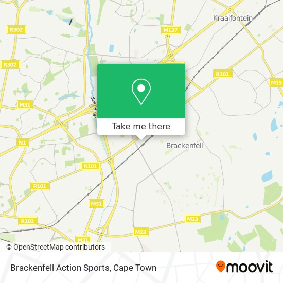 Brackenfell Action Sports map
