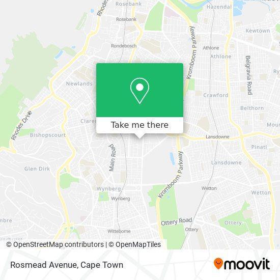 Rosmead Avenue map